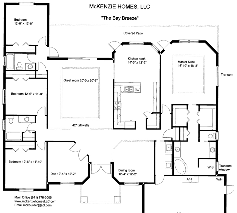 Floor Plans Library Sarasota Home Builders Contractors New